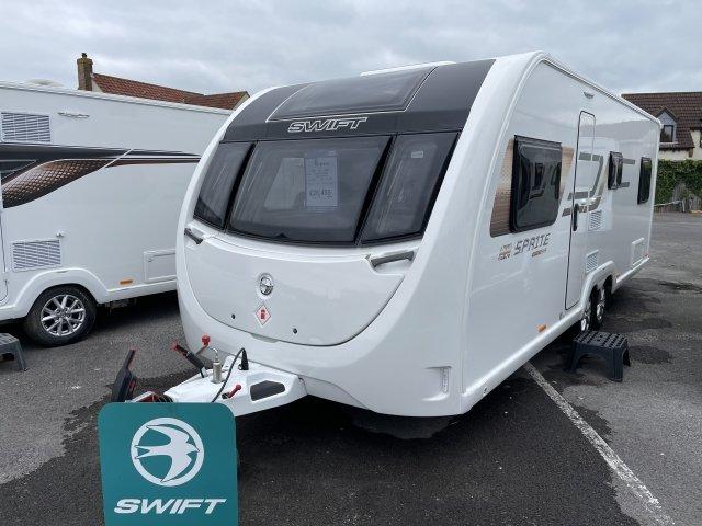 2022 Swift caravan Sprite Super Quattro FB