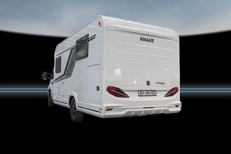 Knaus Sky Ti 650MEG Rear quarter