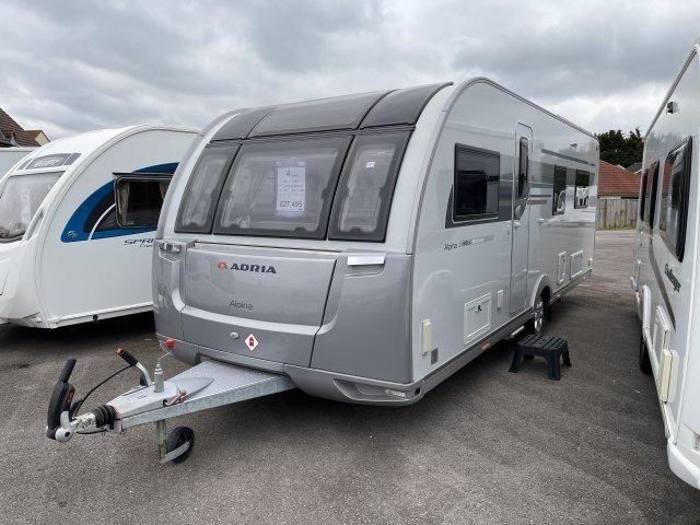 2018 Adria Caravan Alpina UC Missouri
