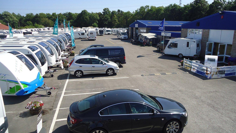 Davan Caravans showground