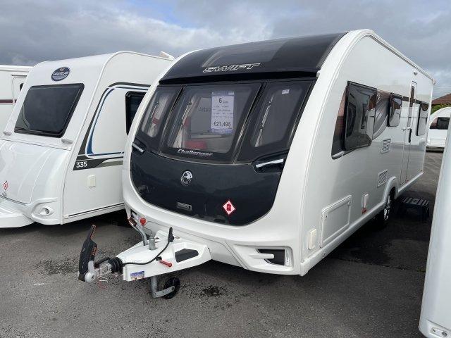 2018 Swift caravan Challenger 590