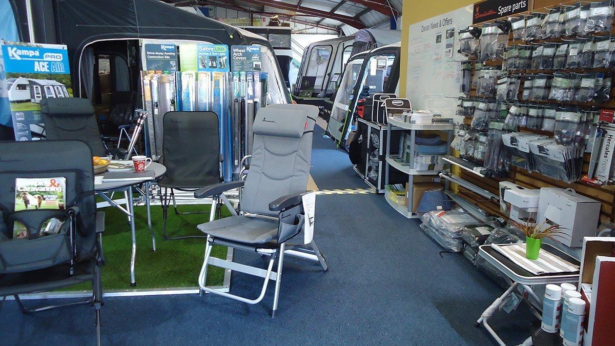 Davan Shop awnings showroom