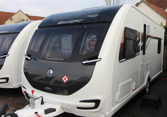2018 Swift Conqueror 560 Exterior Front