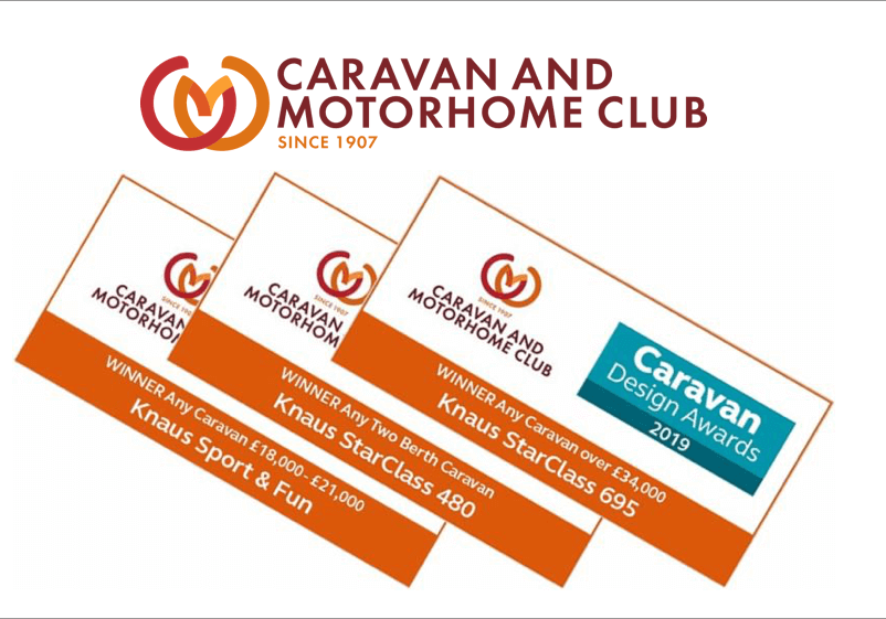2019 Caravan and MOTORHOME club awards winners