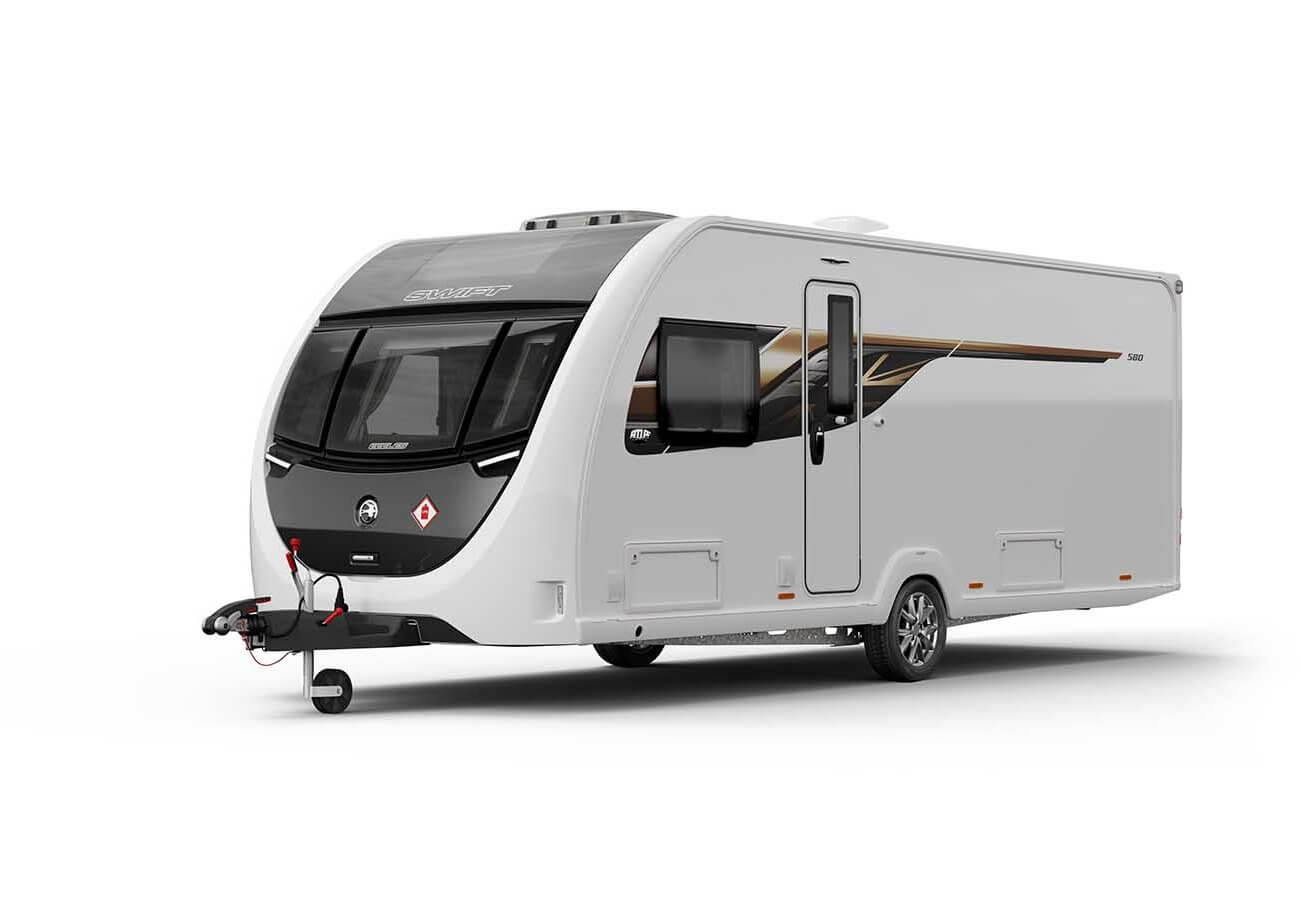 Swift Eccles 580 2019 Exterior Front/Side