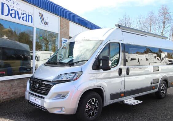 Autotrail V-Line 636 Sport motorhome of the month July 2019 at Davan