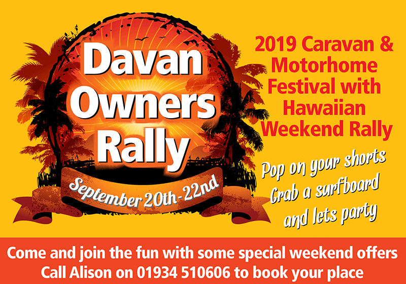 Davan Owners Rally September 2019