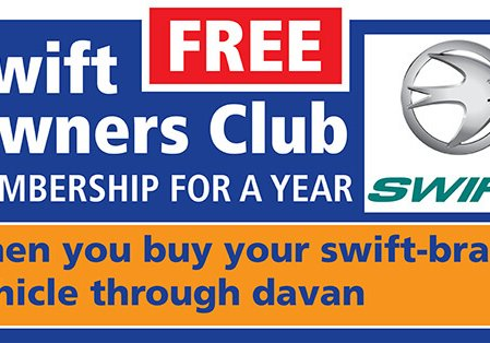 FREE Swift Owners Club membership