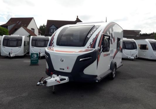 Swift caravan Basecamp 4