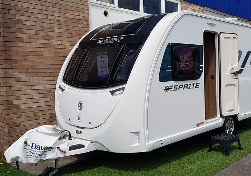 Swift Sprite Alpine 4 at Davan Featured Image