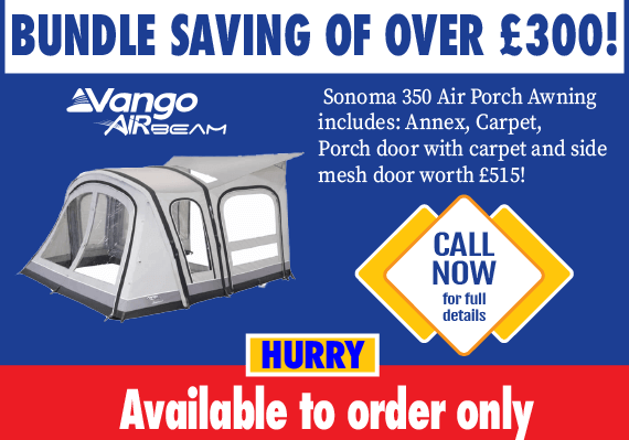 Vango Sonoma 350 II bundle saving